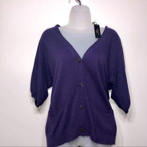 NWT Elegant Talbots Sweater Cardigan